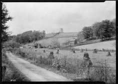 The Stooksberry homestead near Andersonville, Tennessee. This land will be submerged by the Norris Dam Reservoir, October 1933