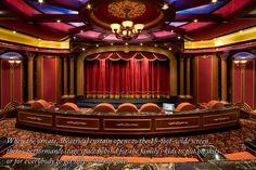 Trendy home movie theater curtains cinema room Movie Theater Decor, Home Theater Rooms, Home Theater Design, Cinema Room, Theater Seating, Cinema Theater, Pinterest App, Million Dollar Rooms, Mega Mansions
