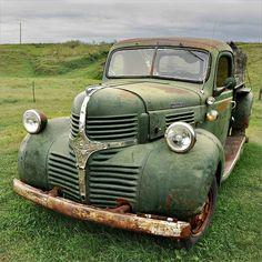 Vintage Dodge Truck.