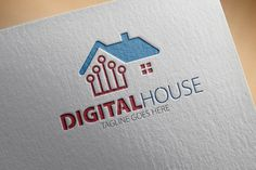 Check out Digital House Logo by samedia on Creative Market