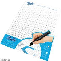 Compra nuestros productos a precios mini Tapete de creación 3Doodler de plástico transparente - 21 x 29,7 cm - Entrega rápida, gratuita a partir de 89 € !