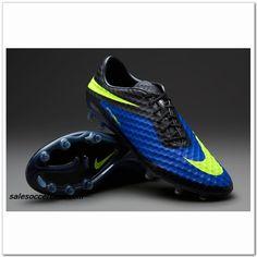 Nike Isco Hypervenom FG Acc 2014 Blue Volt Black $60.00