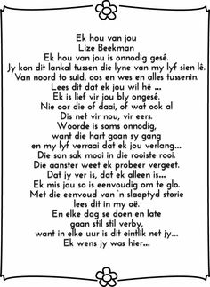 Great Song Lyrics, Afrikaans Quotes, Greatest Songs, Beautiful Words, Adele, Qoutes, Poems, Van, Inspire