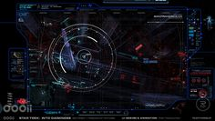 Star Trek: Into Darkness – Survillence Viewscreen   Rudy Vessup   Digital Artist