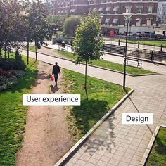 User Experience vs Design. Engage the community to get their perspective, they're the experts by experience