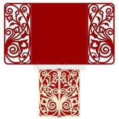 Descargar - Invitación de boda de diseño — Ilustración de stock #134030080