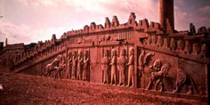 Palace of Darius at Persepolis: Staircase Relief. Ancient Mysteries, Ancient Ruins, Ancient Artifacts, Ancient Greece, Ancient Egypt, Ancient History, Ancient Mesopotamia, Ancient Civilizations, Greco Persian Wars