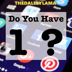 Do you have a burning social media question? Ask me and I just might make you a video! #askmeaquestion #socialmedia #communication #TheDalleyLama