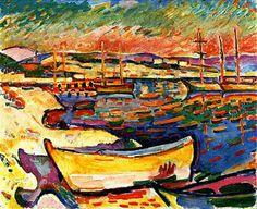 Georges Braque [Francia 1882\1963] > Yellow Seacoast > 1906 > óleo\lienzo > 50x70cm.
