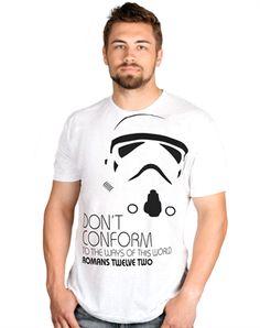 Do Not Conform - Christian Mens Shirts for $14.99 | C28.com