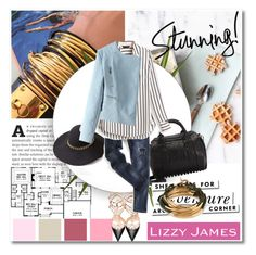 """Lizzy James"" by aida-nurkovic ❤ liked on Polyvore featuring Lizzy James, OKA, Zara Home, Alexander Wang, Valentino, White House Black Market, Kate Spade and lizzyjames"