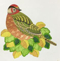 Colouring Millie Marotta Bird / Oiseau