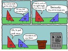 took me a while but i got it hahaha - Mathe Ideen 2020 Math Puns, Punny Puns, Math Humor, Teacher Humor, Maths, Nerd Humor, Math Quotes, Funny Quotes, Math Cartoons