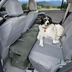 AmazonSmile : Petego Car Seat Extender Inflatable Platform : Automotive Pet Seat Covers : Pet Supplies