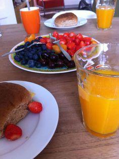 #Ontbijt #fruit
