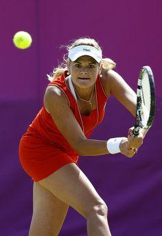 Aleksandra Wozniak - Olympics Day 3 - Tennis