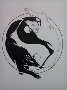 Yin Yang: Gifts & Merchandise   Wolves, Cats and Yin yang
