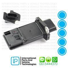 Nissan 22680-7S00A Air Flow Sensor AFH7-0M38 DENSO   DMA-0203 HITACHI  AFH7-0M38, U0800 1AFS NISSAN  22680-7S000 PIERBURG 7.22184.43.0 ** Contact for Price - 0615444370 ** Email: sales@ipvt.co.za International Parts & Vehicle Technologies  #InternationalParts #IPVT #Nissan #Navara Nissan Navara, Flow, Vehicle, Engineering, Technology, Tech, Tecnologia, Vehicles