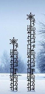 Snow Guage - modern - outdoor decor - by Ironworks Home