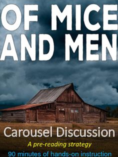 Of Mice and Men;s theme is loneliness. Provide examples for it ...