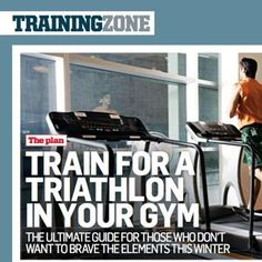 Your Indoor Triathlon Training Plan