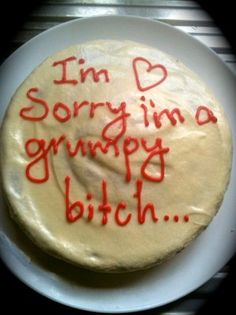 I might need to make this cake. #menopause