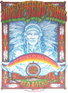 2001/06/22-24 - WIDESPREAD PANIC - RED ROCKS | Concert Posters | jambandposters.com