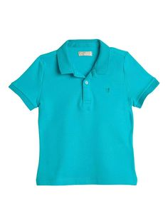 55a90b63e7d1b Toddler Boy Cotton Polo T Shirt Camisa Camisetas Tipo Polo para Niños -  Blue 2 -