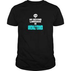 AIREDALE TERRIER second language - Mens Premium T-Shirt