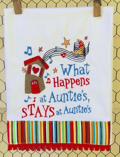 What Happens At Auntie's House by seechriscreate on Etsy