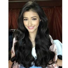 Liza Soberano Liza Soberano, Most Beautiful Faces, Beautiful Long Hair, Pretty Hairstyles, Easy Hairstyles, Blond, Filipina Beauty, Natural Hair Styles, Long Hair Styles