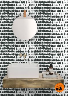 Removable wallpaper/Peel and stick/Wallpaper/Self adhesive wallpaper /Temporary wallpaper/Wall decor . Abstract patern A0111 by OrangeAwenue on Etsy https://www.etsy.com/listing/398903547/removable-wallpaperpeel-and