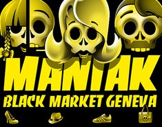 """Check out new work on my @Behance portfolio: """"Icones - Maniak Store"""" http://be.net/gallery/61596597/Icones-Maniak-Store"""