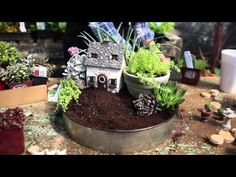 A Sweet Container Garden To Decorate As You Like - YouTube