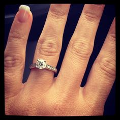 My #ring #theknot ❤