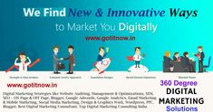 Best Company to provide Digital Marketing Consulting Services Pune, India We specialize in Design, Implementing and Execution of Digital Marketing Strategies Best Digital Marketing Company, Digital Marketing Strategy, Digital Marketing Services, Marketing Strategies, Mobile Marketing, Inbound Marketing, Email Marketing, Social Media Marketing, Web Seo