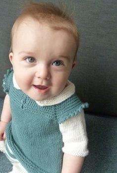 Claudine Layered Dress and Top PDF knitting pattern von frogginette