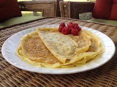 Arrowroot Flour Crepes – Family Fav!!! Arrowroot Recipes, Arrowroot Flour, Flour Recipes, Paleo Recipes, Dessert Recipes, Easy Healthy Breakfast, Breakfast Ideas, Crepe Recipes, Sugar Free Desserts
