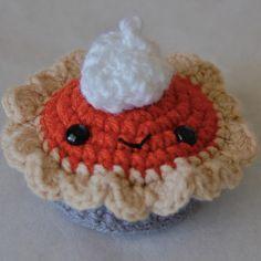 Pumpkin Spice Pie | AllFreeCrochet.com