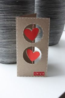cute card...cute as a little wall hanging too