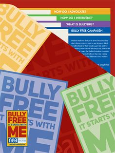 The NEA Bullying Prevention Kit | Designed by educators for educators, this kit reflects the best available research on bullying prevention.