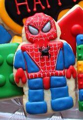 Spider-Man Cookie