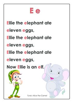 ABC Songs – Letter E