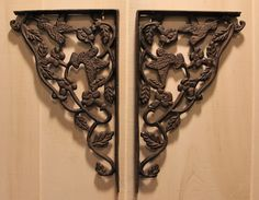Wrought Iron Hummingbird Shelf Bracket