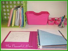 Get Organized: Paper Clutter Solutions (bill paying)