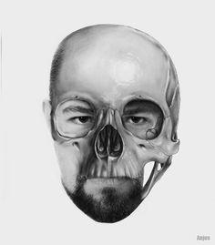 Skull Man on Behance
