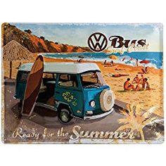 Coole Geschenkidee für VW Bulli Fans. Steht deine Schwester auf diesen Lifestyle, dann wird sie dieses wunderschöne Blechschild lieben. Klicke auf den Link für weitere Geschenkideen!