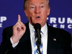 AT LEAST HE HAS A DETAILED PLAN.  28 Things Donald Trump Promises to Do as President THE CAREER POLITICIANS HAVE YET TO KEEP THEIR PROMISES! LETS GIVE SOMEONE WHO IS NOT A WASHINGTON INSIDER A CHANCE! During an appearance in Gettysburg, Pennsylvania, he vows to act on them in the first 100 days in office.