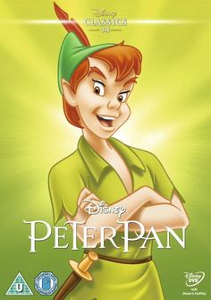 Peter Pan (1953) (Limited Edition Artwork Sleeve) [DVD] Peter Pan Disney, Peter Pan Dvd, Peter Pan 1953, Peter Pans, Walt Disney, Disney Dvd, Disney Films, Disney Characters, Disney Posters