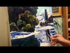 Landscape Painting Tutorial, 2 of 4 - YouTube